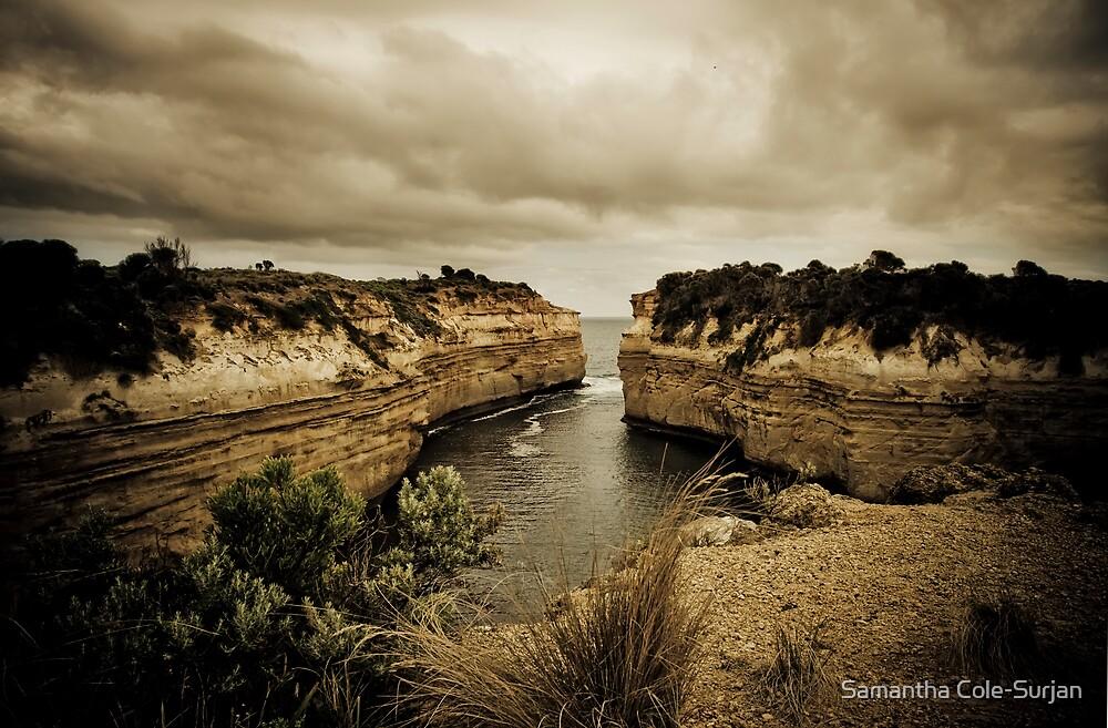 Loch Ard Gorge, Great Ocean Road, Victoria by Samantha Cole-Surjan