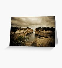 Loch Ard Gorge, Great Ocean Road, Victoria Greeting Card