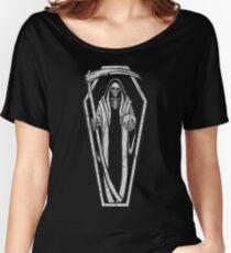 Camiseta ancha para mujer Santa Muerte