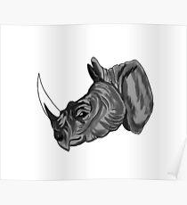 Big Horned Beast Poster