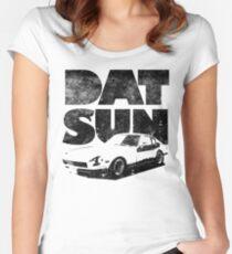 Datsun 240Z Fatty Women's Fitted Scoop T-Shirt