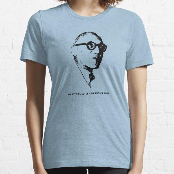 ¿Qué haría Le Corbusier? Camiseta Arquitectura Camiseta esencial