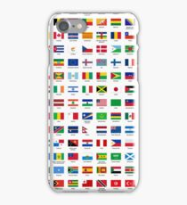 World flags iPhone Case/Skin