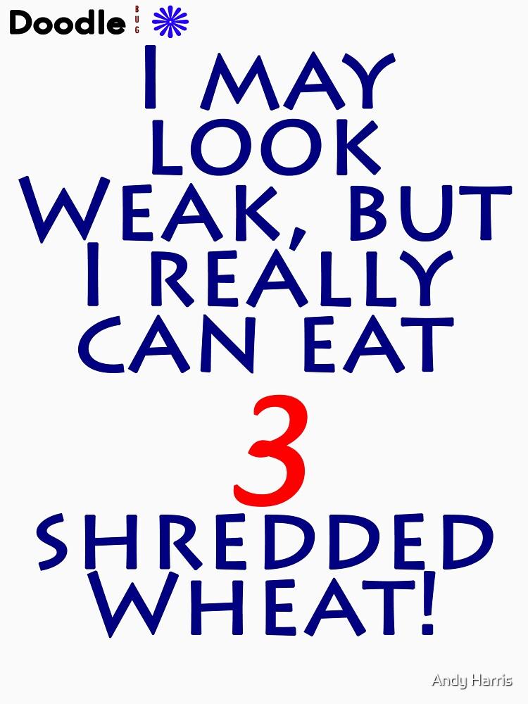 Shredded Wheat! by neoquaid