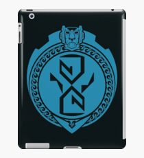 Polynesian Blue Lion iPad Case/Skin