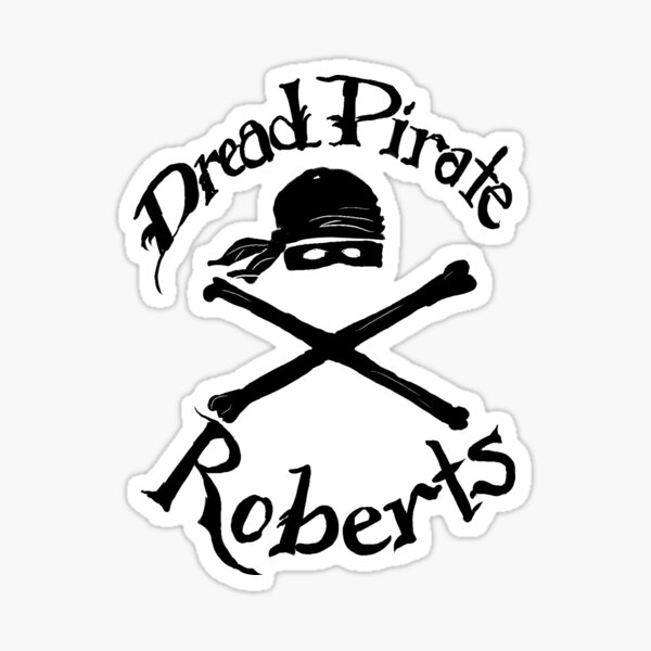dread pirate Sticker