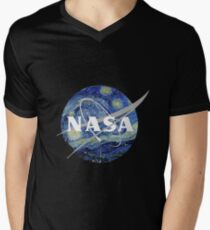 Nasa Starlight Men's V-Neck T-Shirt
