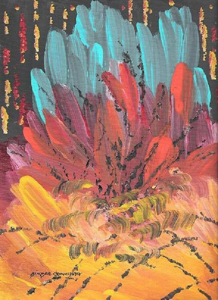 Inside the Crystal Cave by Ginger Lovellette