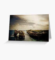 Natural Arch, Great Ocean Road, Victoria Greeting Card
