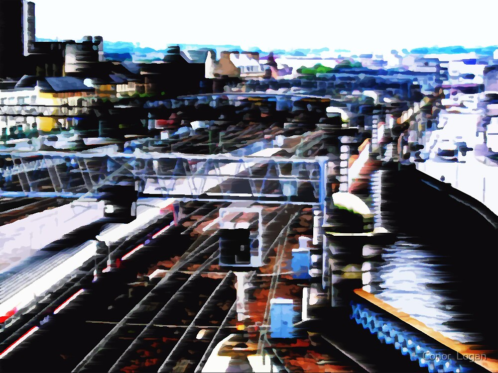 Trains by Conor  Logan