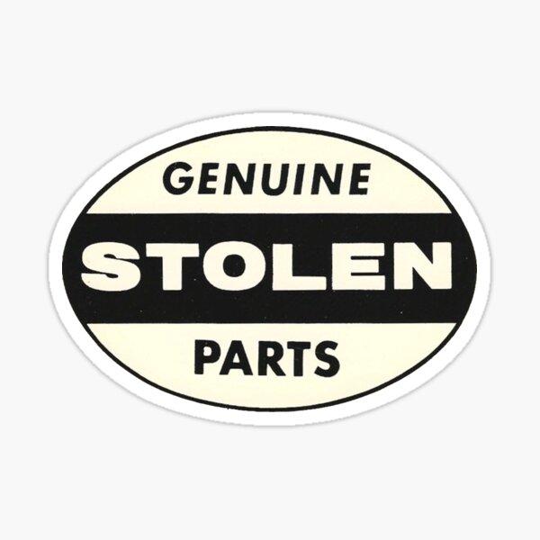 Vintage Genuine Stolen Parts Sticker