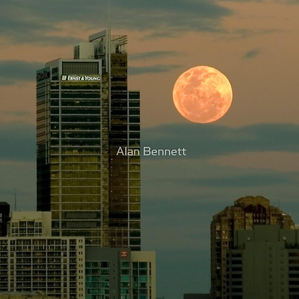 Full Moon Over Sydney by Alan Bennett