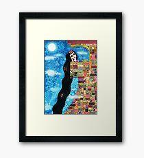 Rapunzels Moon Framed Print