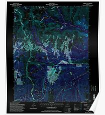 USGS TOPO Map Colorado CO Garfield 233051 1994 24000 Inverted Poster