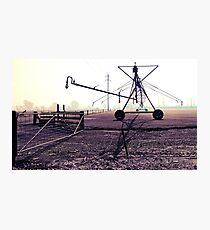 Lowlands Irrigation Photographic Print