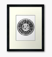 Gits & Shiggles Framed Print