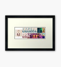 Be Good To Each Other Framed Print