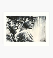 Butch & Sundance Art Print