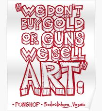 PONSHOP Slogan Poster