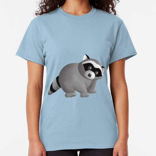 Curious Raccoon Classic T-Shirt