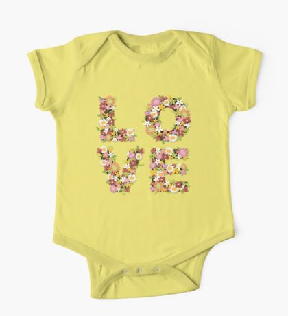 LOVE Spring Flowers | Pink Kids Clothes