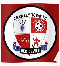 crawley town fc Poster