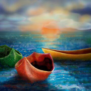 Three Boats by jboyd