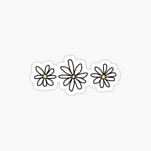Daisies sticker Sticker