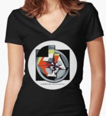 The Meaning of Music (2) Women's Fitted V-Neck T-Shirt
