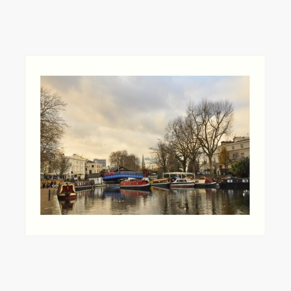 Little Venice - London Art Print