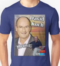 "The ""David 'Kochie' Koch"" Unisex T-Shirt"