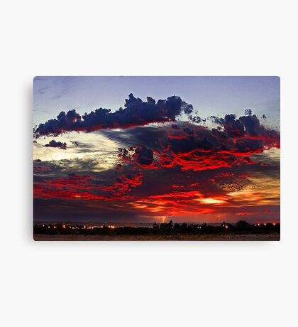 Sunrise Thunderstorm Canvas Print