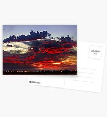Sunrise Thunderstorm Postcards