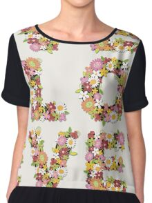 LOVE Spring Flowers | Pink Chiffon Top