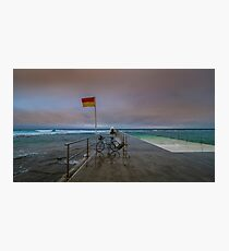 Merewether Baths Australia Day 2017 Photographic Print