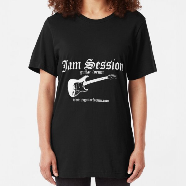 Jam Session Scot Kroeker Dark TShirt 1 Slim Fit T-Shirt