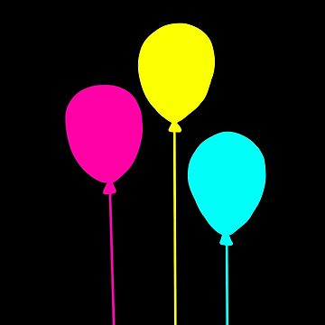 CMYK BALLOONS by Lileaves