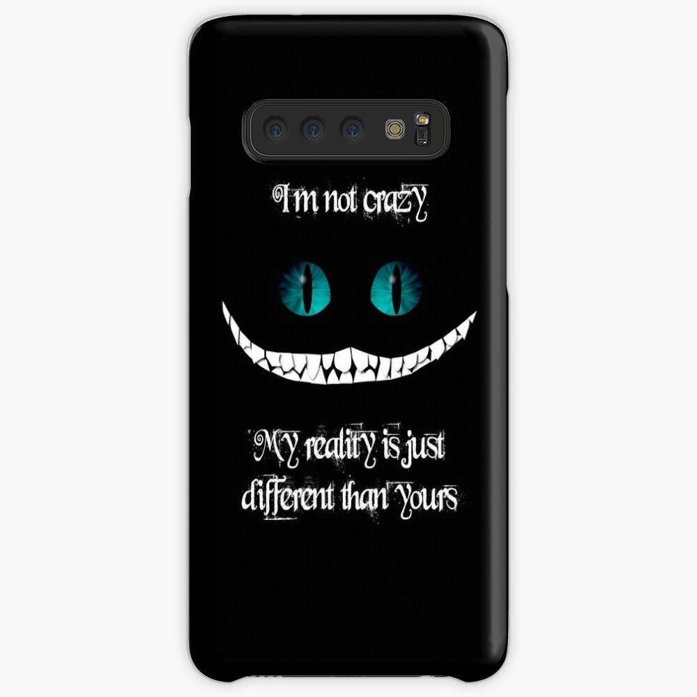 Ich bin nicht verrückt. Meine Realität ist einfach anders als deine Hüllen & Klebefolien für Samsung Galaxy