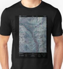 USGS TOPO Map Colorado CO Buford 20110506 TM Inverted Unisex T-Shirt