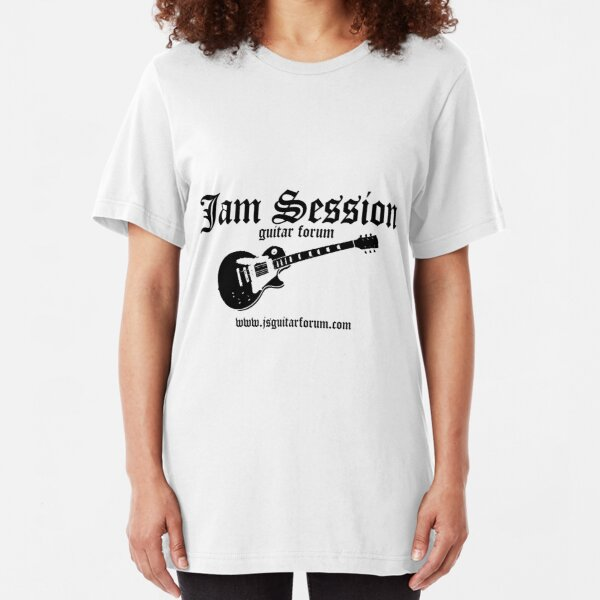 Jam Session Guitar 3 TShirt by Scot Kroeker Slim Fit T-Shirt