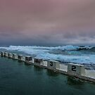Merewether Ocean Baths Newcastle by Toni McPherson