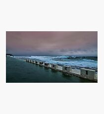 Merewether Ocean Baths Newcastle Photographic Print