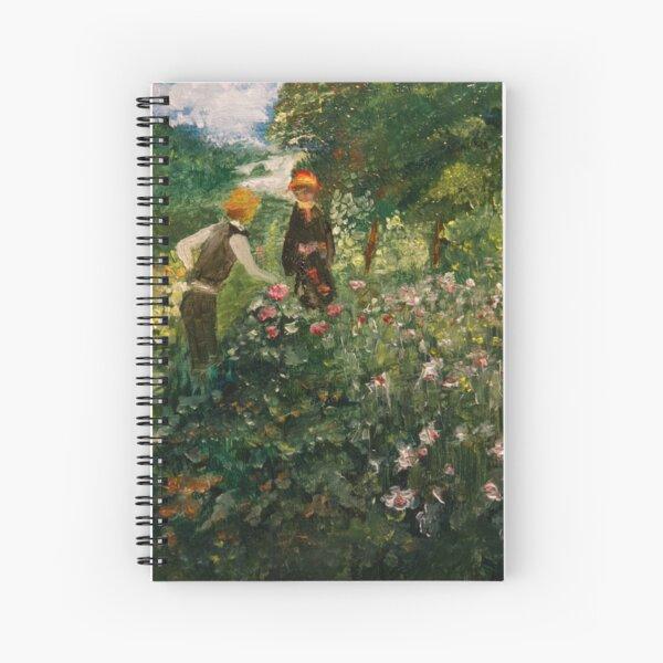 Picking Flowers (after Renoir) Spiral Notebook