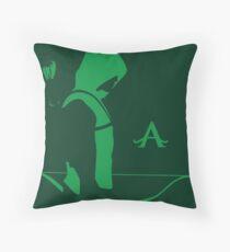 Arrow in the Dark Throw Pillow