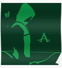 Arrow in the Dark Poster