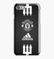 manchester united wallpaper iPhone Case/Skin