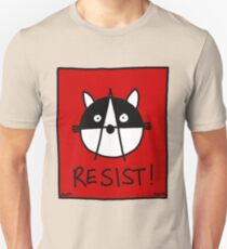 Resist! With the Raccoons of the Resistance Unisex T-Shirt