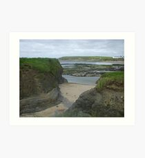 Bundoran Strand, County Donegal Art Print