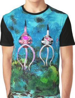 Ascoenopes Having a Relaxing Float on  Extra Solar Planet  GJ 1214 b Graphic T-Shirt