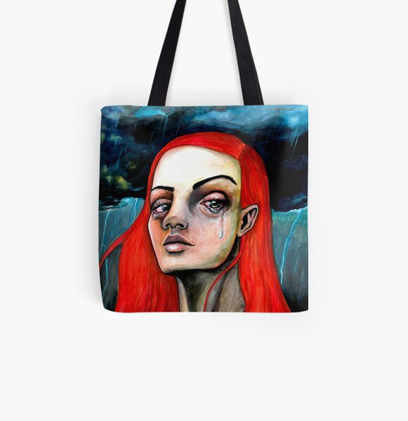 For Strong Women All Over Print Tote Bag